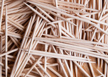 Toothpicks background Royalty Free Stock Photos