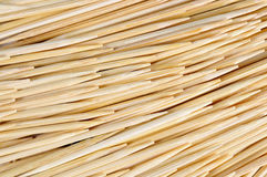 Toothpicks close up texture. Royalty Free Stock Photo