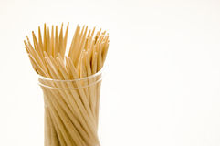 Toothpicks conceptual image. Approximation of many toothpicks Stock Images
