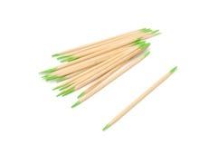 Toothpicks condetti menta fotografia stock