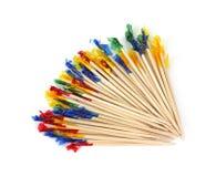 Toothpicks del partido fotos de archivo