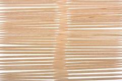 toothpicks della priorità bassa di legno immagine stock