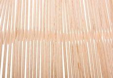 toothpicks della priorità bassa di legno fotografia stock