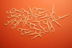Toothpicks a gettare Fotografia Stock Libera da Diritti