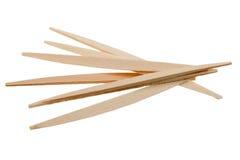 Toothpicks isolated Stock Image