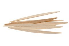 Toothpicks isolated Stock Photography