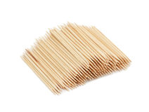 Toothpicks, isolated Royalty Free Stock Photos