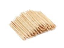 Toothpicks, isolated Royalty Free Stock Photos