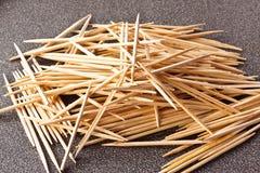 The toothpicks Royalty Free Stock Photo