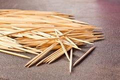 The toothpicks Stock Image