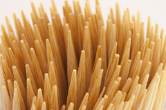 Toothpicks. Many toothpicks together, can be used as background Stock Images