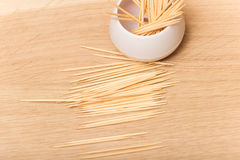 Toothpicks Royalty Free Stock Image