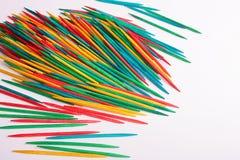 Toothpicks sharp Stock Photos