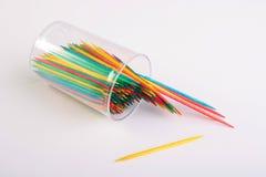 Toothpicks sharp Stock Photography