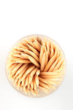Toothpicks - Top View Royalty Free Stock Image
