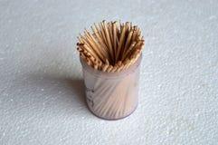 Toothpics Imagen de archivo