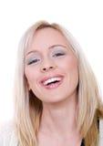 Toothy glimlach Stock Foto's
