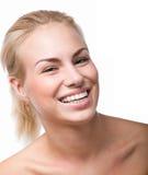 Toothy glimlach. Zeg kaas Stock Afbeeldingen