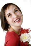 Toothy Lächeln Stockbild