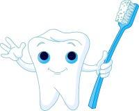 toothy leende Arkivbilder