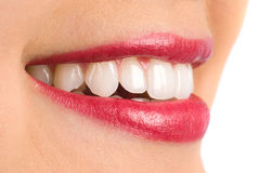 Toothy smile Stock Photos