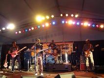 Toots και η μουσική reggae παιχνιδιών Maytals στη σκηνή στο Marin Στοκ Φωτογραφίες