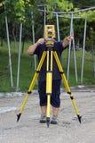 Topógrafo de la tierra Fotografía de archivo