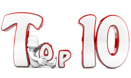 TOP 10 award Royalty Free Stock Photos