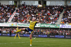 Top 14 rugby match USAP vs ASM Clermont Royalty Free Stock Images