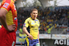 Top 14 rugby match USAP vs ASM Clermont Auve Stock Photography