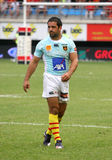 Top 14 rugby match USAP vs Bayonne Stock Photo