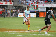 Top 14 rugby match USAP vs Bayonne Royalty Free Stock Photo