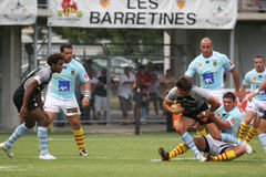 Top 14 rugby match USAP vs Bayonne Royalty Free Stock Images