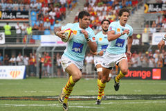 Top 14 rugby match USAP vs Bayonne Royalty Free Stock Photography