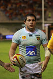 Top 14 rugby match USAP vs CA Brive Stock Photography