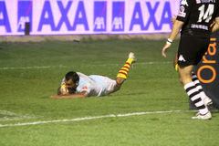 Top 14 rugby match USAP vs CA Brive Stock Photos