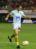 Top 14 rugby match USAP vs CA Brive Royalty Free Stock Photo