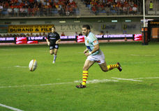 Top 14 rugby match USAP vs CA Brive Royalty Free Stock Images