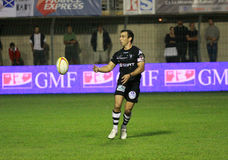 Top 14 rugby match USAP vs CA Brive Stock Photo