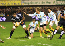 Top 14 rugby match USAP vs Castres Royalty Free Stock Photos