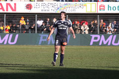Top 14 rugby match USAP vs Castres Stock Photography