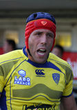 Top 14 rugby match USAP vs Clermont Stock Image