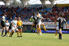 Top 14 rugby match USAP vs Montauban Royalty Free Stock Images