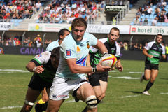 Top 14 rugby match USAP vs Montauban Royalty Free Stock Photo
