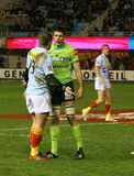 Top 14 rugby match USAP vs Montauban Stock Photo