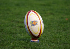 Top 14 rugby match USAP vs Montpellier Royalty Free Stock Photography