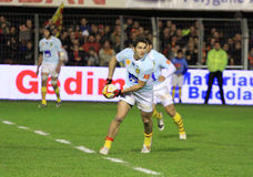 Top 14 rugby match USAP vs RC Toulon Royalty Free Stock Image