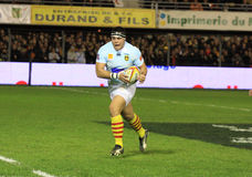 Top 14 rugby match USAP vs RC Toulon Royalty Free Stock Photos