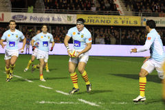 Top 14 rugby match USAP vs RC Toulon Stock Images
