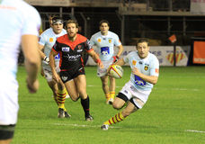 Top 14 rugby match USAP vs RC Toulon Stock Photography